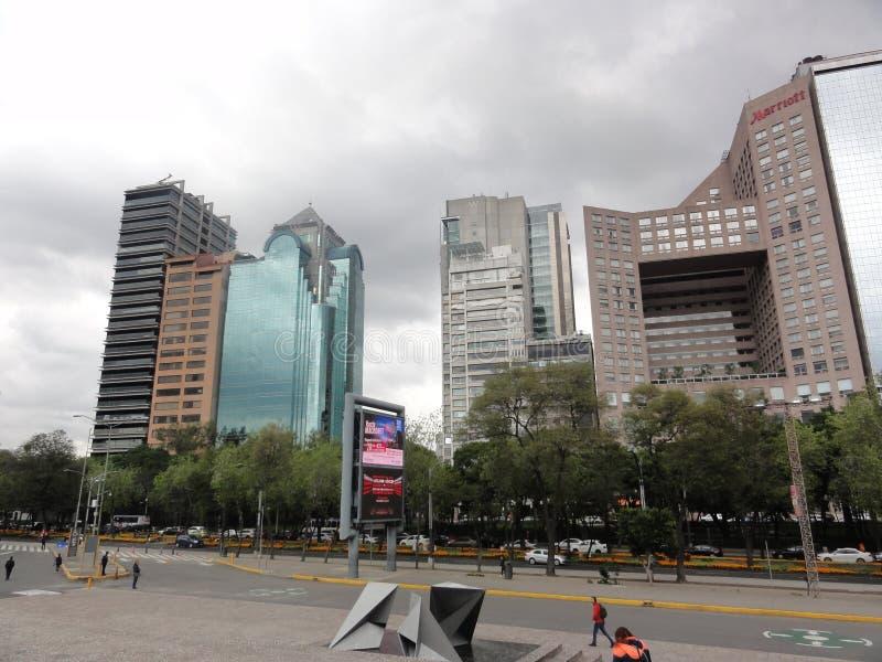 镇Ciudad de墨西哥–墨西哥 免版税图库摄影