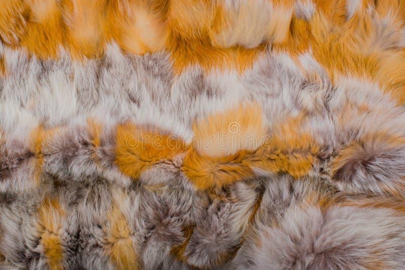 镍耐热铜毛皮纹理和背景  库存照片