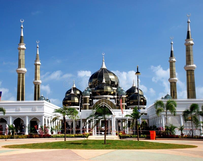 镜子清真寺 免版税图库摄影