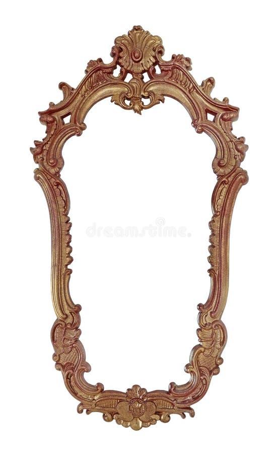 镜子的框架 库存图片