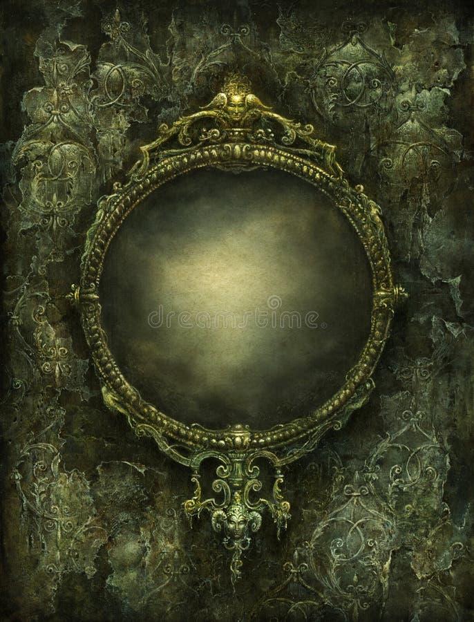 镜子 皇族释放例证