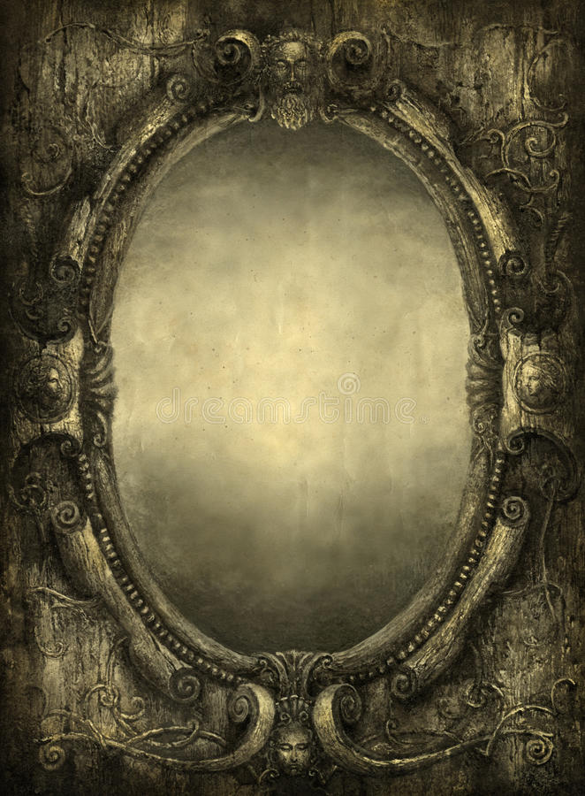 镜子 向量例证