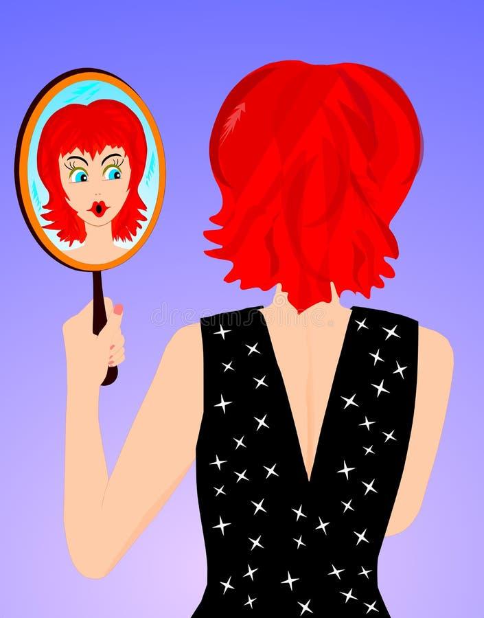 镜子 库存照片