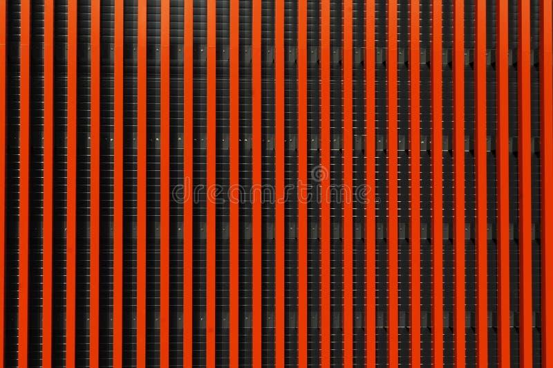 镶边的抽象橙色模式 图库摄影