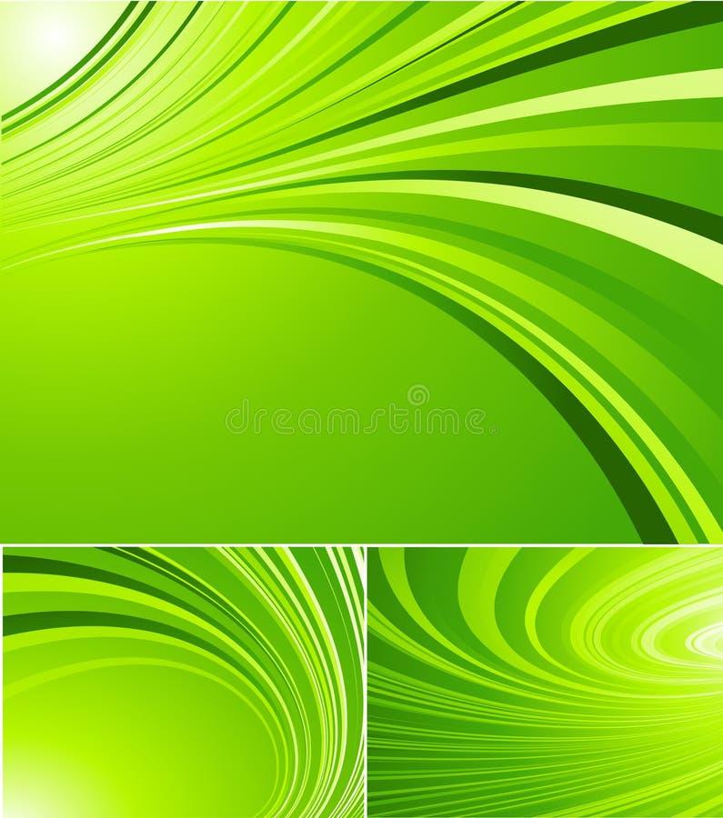 镶边的背景绿色 免版税库存图片