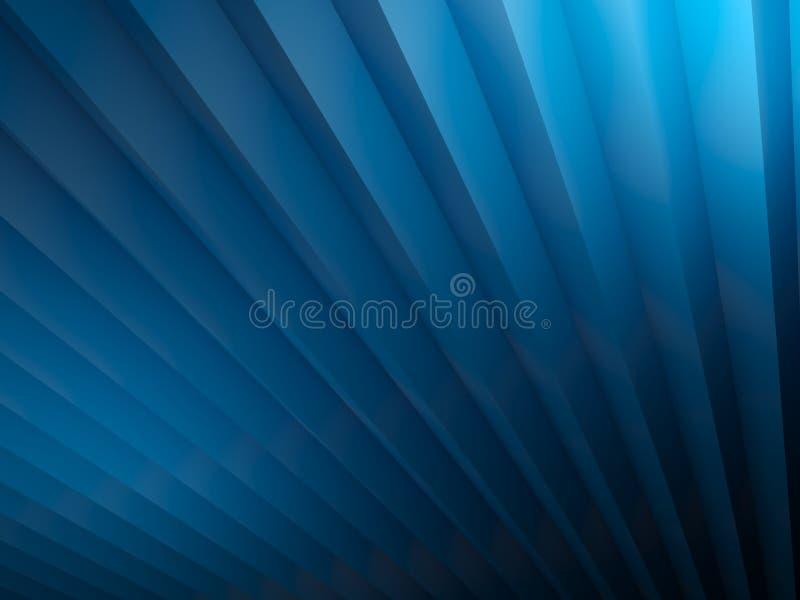镶边的背景蓝色 向量例证