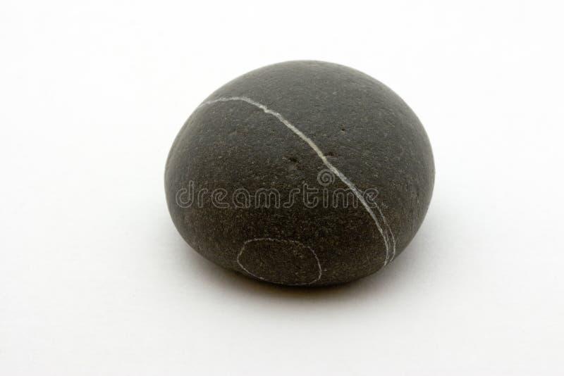 镶边的黑色岩石 免版税库存图片