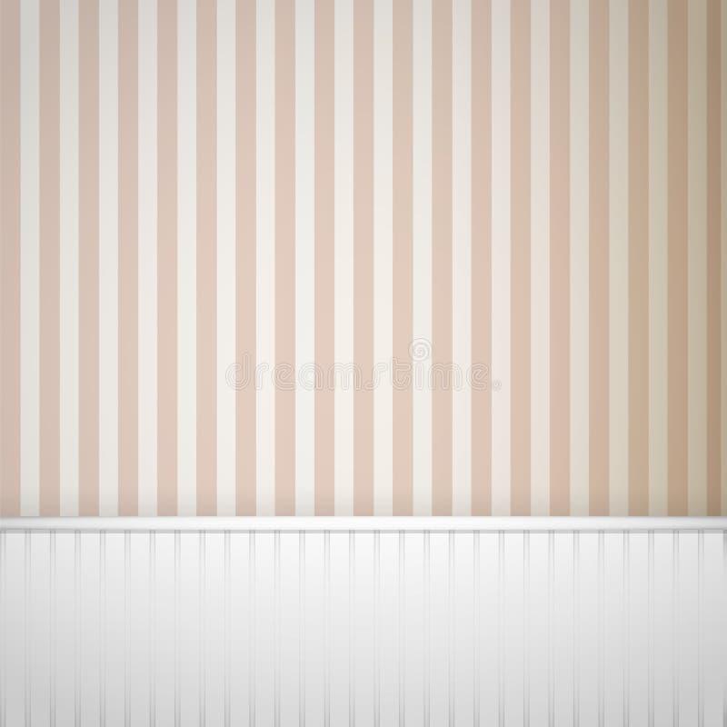 镶边纹理墙壁 皇族释放例证
