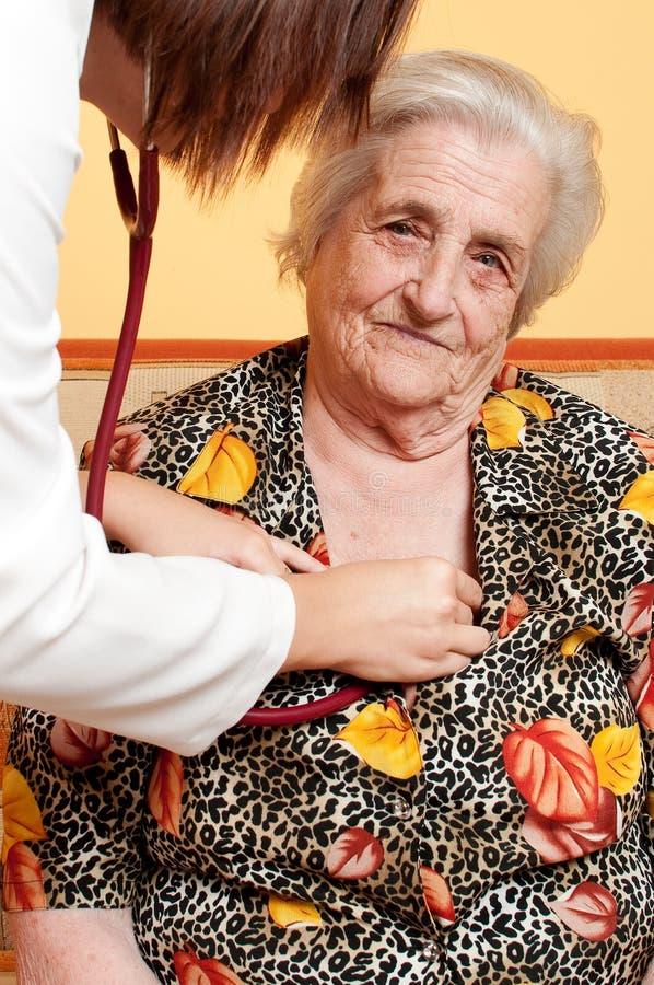 年长人员 免版税库存图片