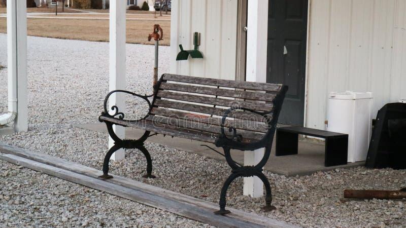 长凳椅子 图库摄影
