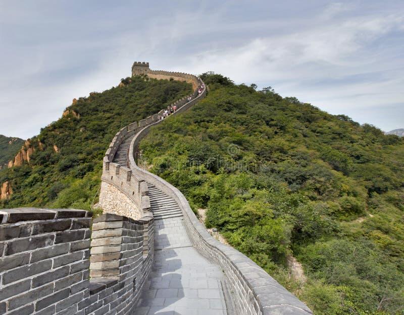 长城在中国 库存照片