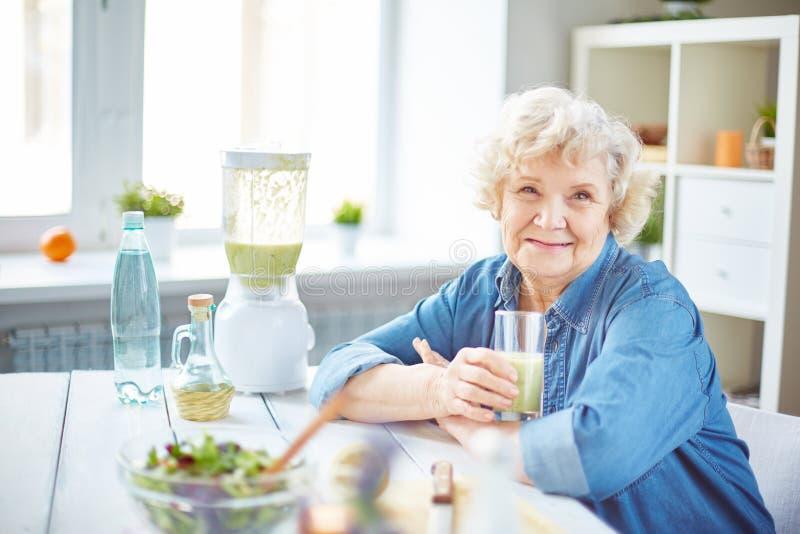 年长女性 免版税库存图片