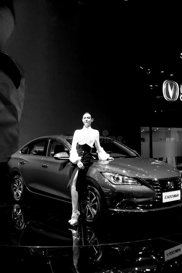 长安汽车,高尚的秀丽汽车模型 图库摄影