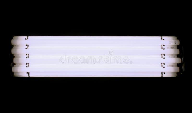 长方形演播室灯 图库摄影