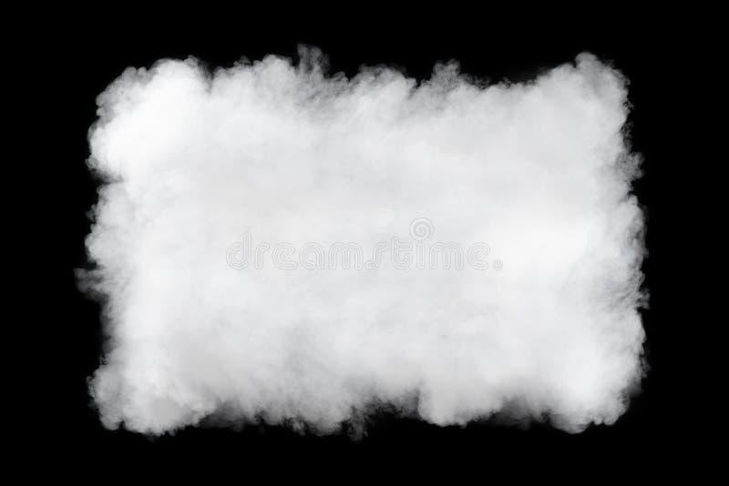长方形烟云背景 库存图片