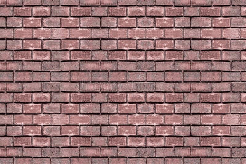 长方形石棕色赤土陶器砖老石工水塔城堡都市难看的东西背景风化了表面 库存照片