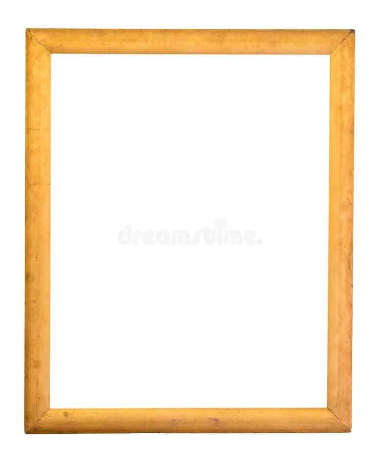 长方形装饰金黄画框. 纵向, 博物馆.图片