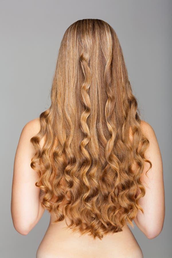 长期头发 库存图片