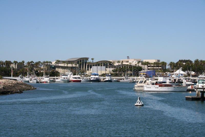长水族馆的海滩 免版税库存照片