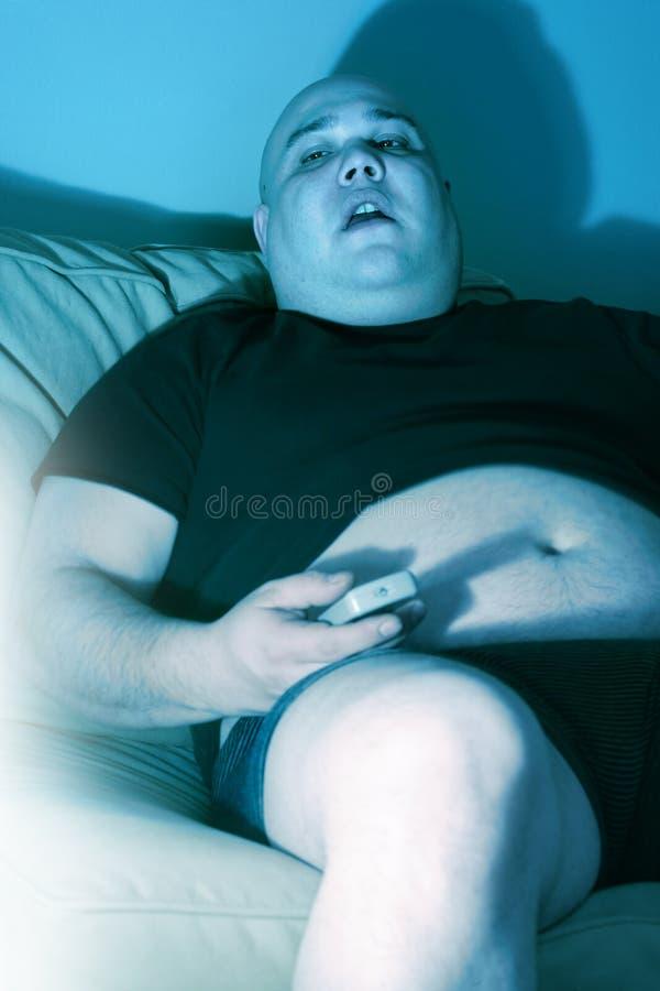长沙发懒惰土豆 免版税库存照片