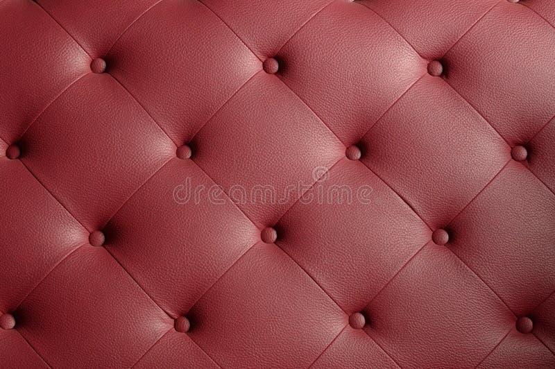 长沙发皮革纹理 库存照片