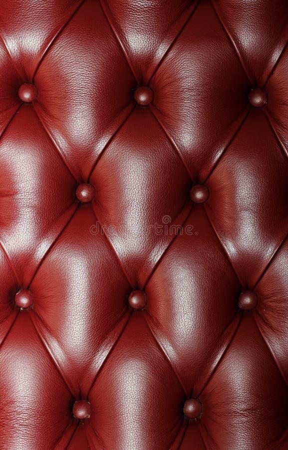 长沙发皮革 库存照片