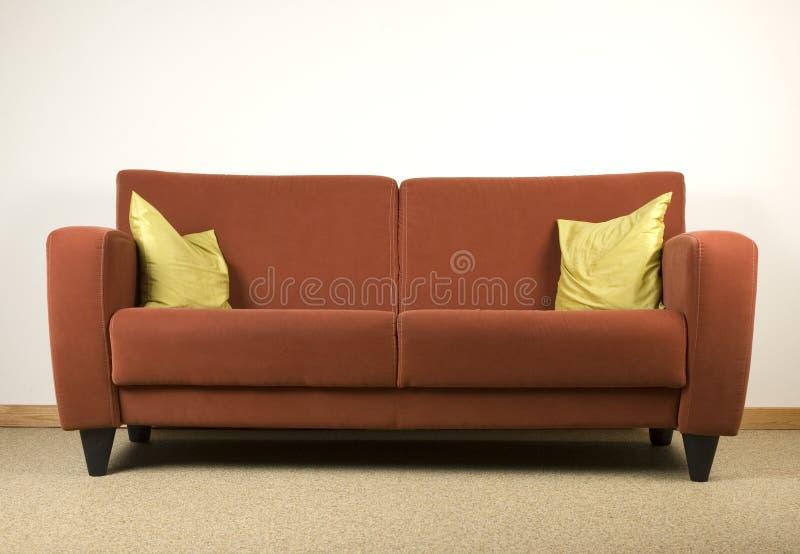 长沙发 免版税图库摄影