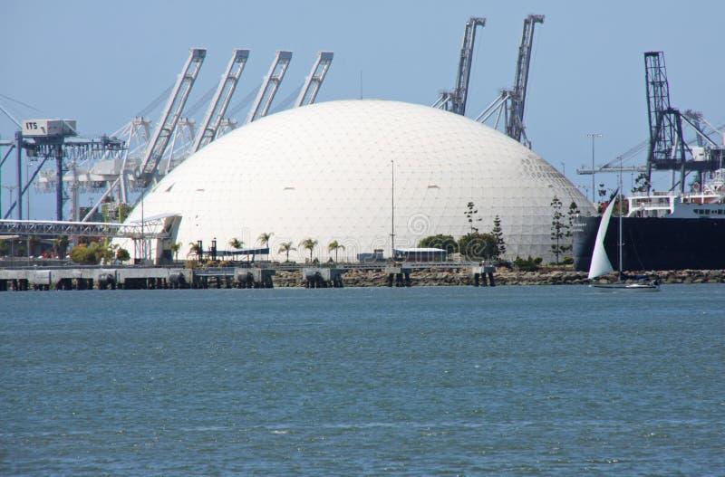 长海滩的圆顶 免版税库存图片
