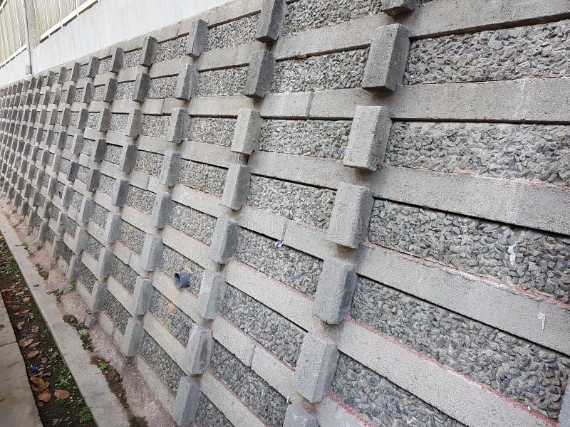 长的石篱芭/墙壁 库存图片
