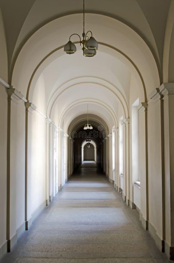 长的走廊 图库摄影