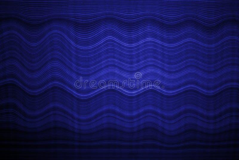 长笛板设计波浪颜色蓝色背景 库存照片