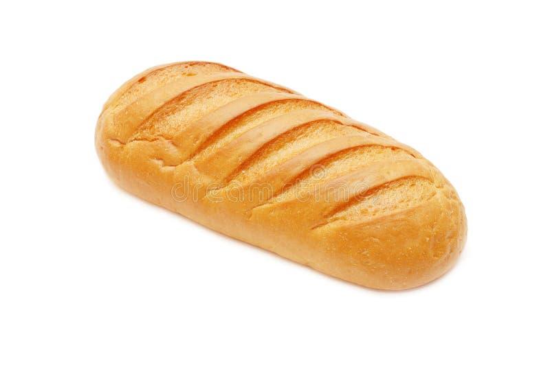 长被烘烤的新鲜的大面包 库存照片
