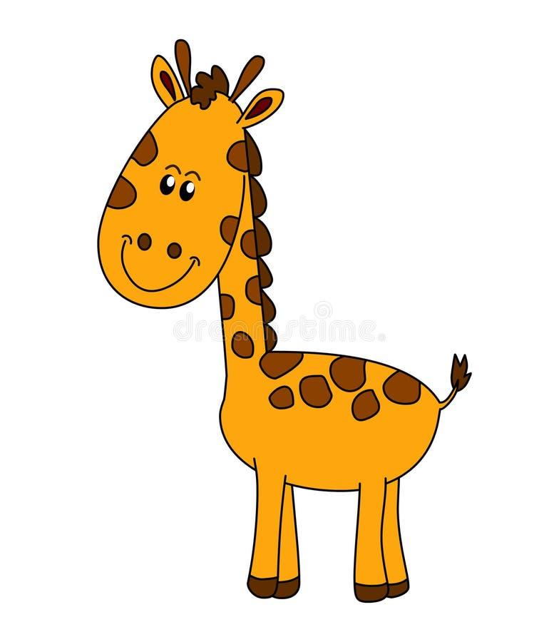 长颈鹿 向量例证