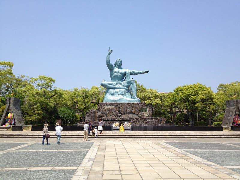 长崎和平公园 免版税图库摄影