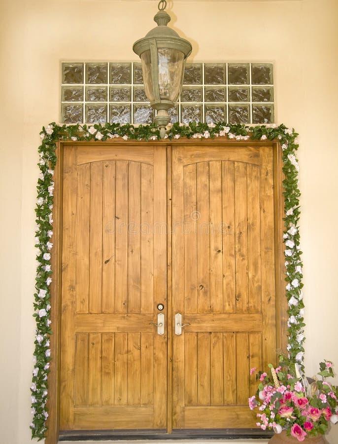 门入口正式华丽 图库摄影