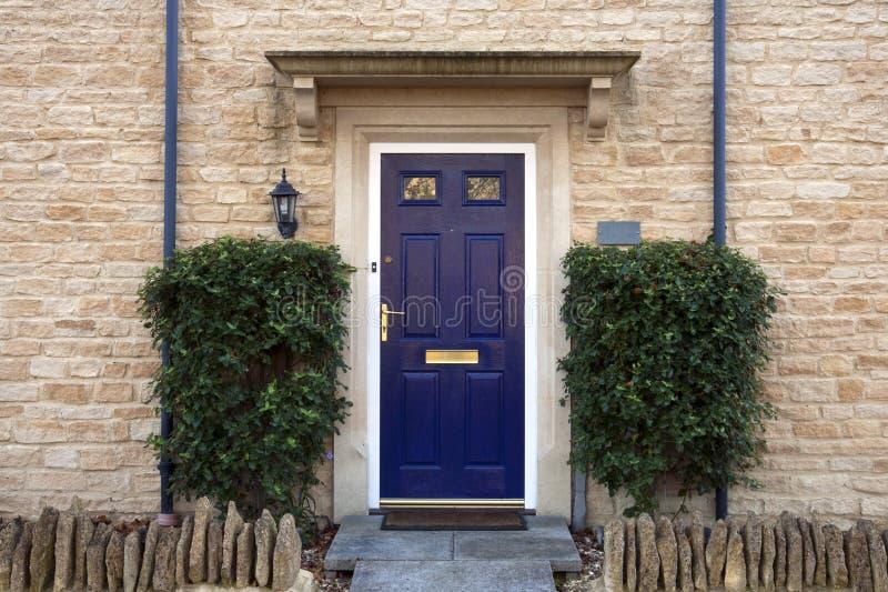 门入口涉及的前面家 库存图片