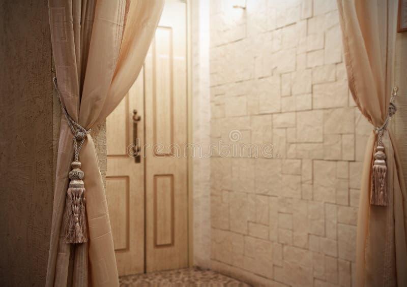 门入口空间 库存图片
