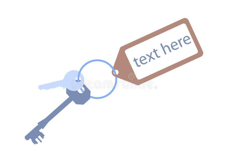 门关键关键字标签 向量例证