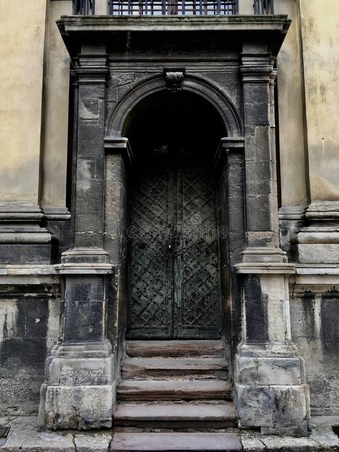 门到过去里 图库摄影