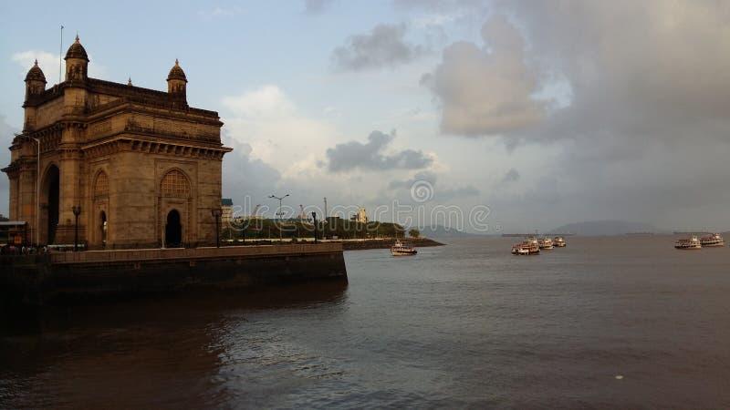 门印度mumbai 免版税图库摄影