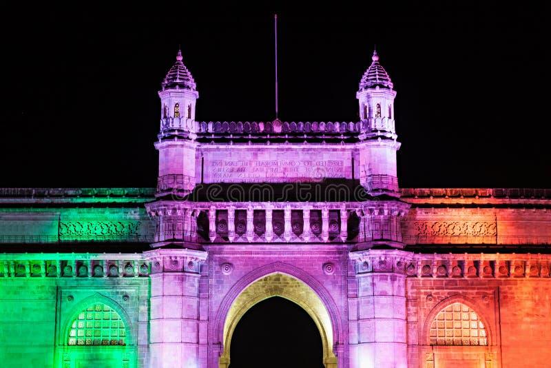 门印度mumbai 库存图片