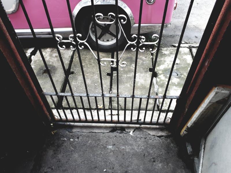 门和卷 免版税库存图片