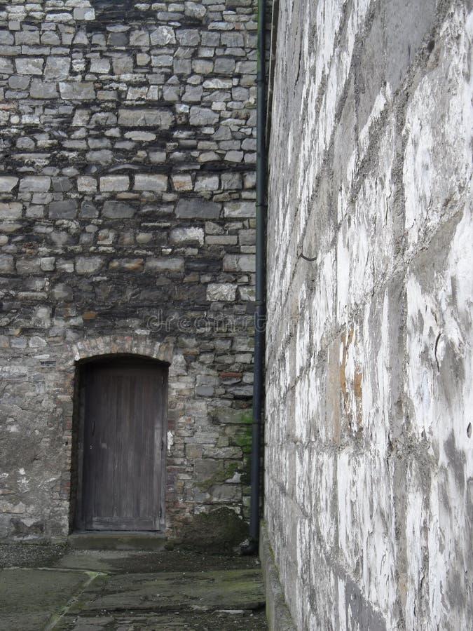 门和墙壁 库存图片