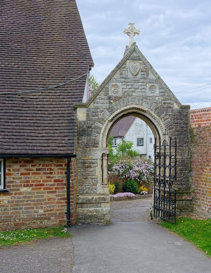 门和拱道 库存图片