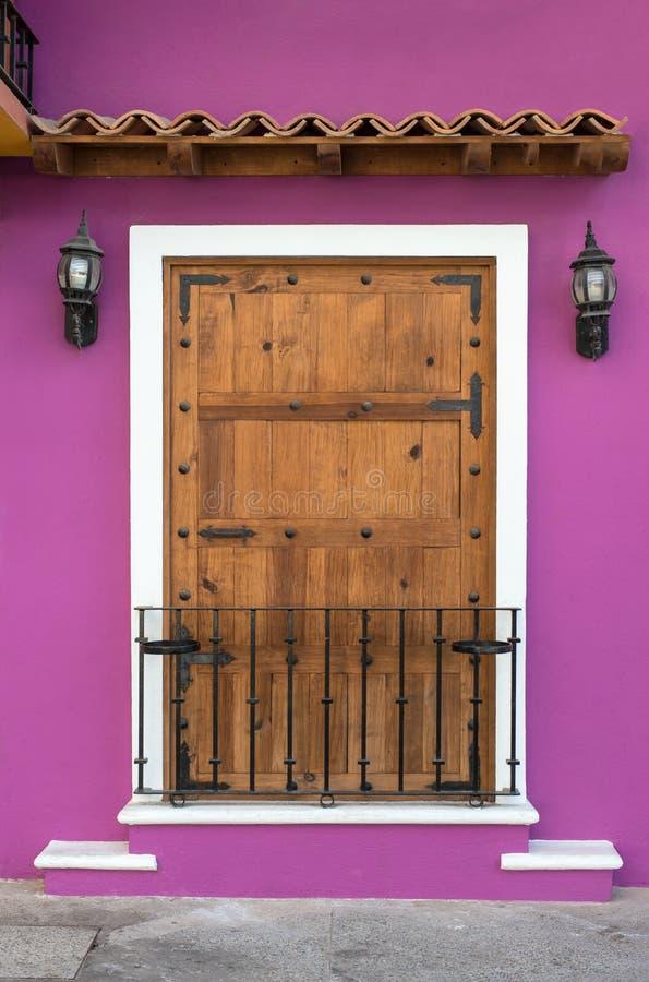 门在墨西哥 免版税库存照片