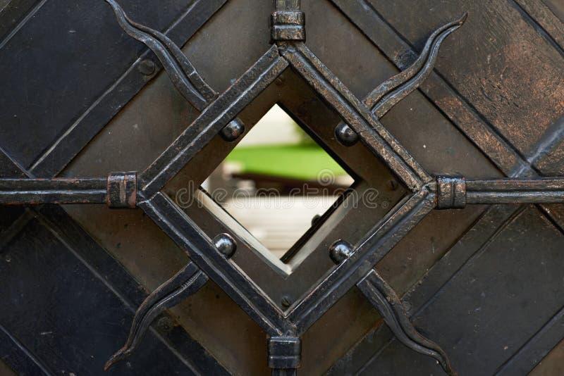 门在维尔纽斯老镇 免版税库存图片