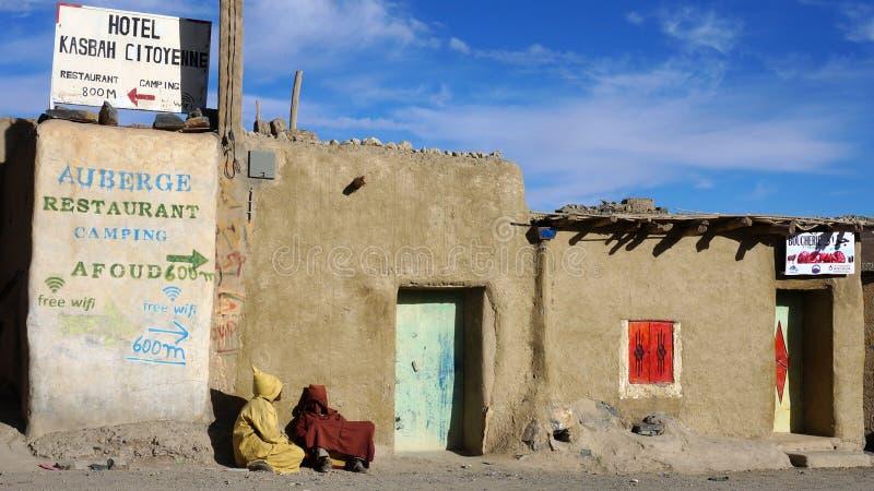 门在Fes,摩洛哥 免版税库存图片
