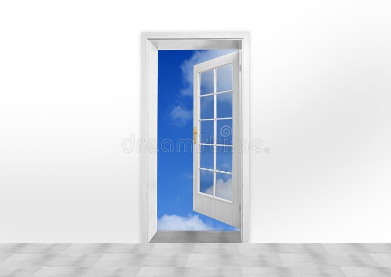 门天空 库存图片
