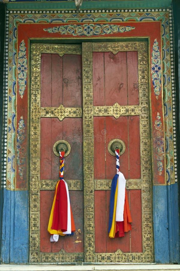 门寺庙 免版税库存图片