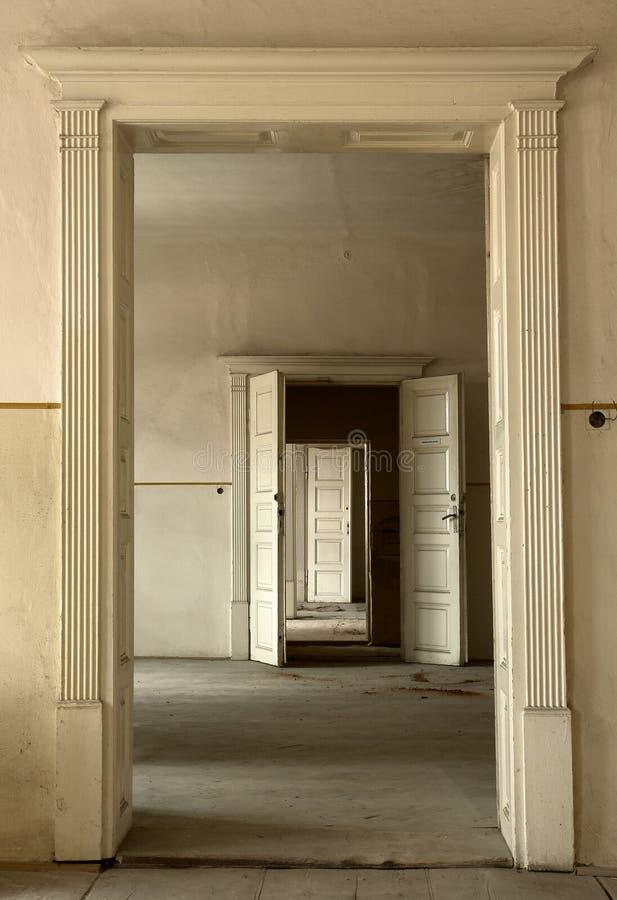 门开辟可能性 免版税库存图片